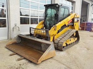 2016 CATERPILLAR 279D Skid steer sur chenille .