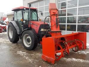 2009 Case IH FARMALL 95C Tracteur souffleur AVANT .