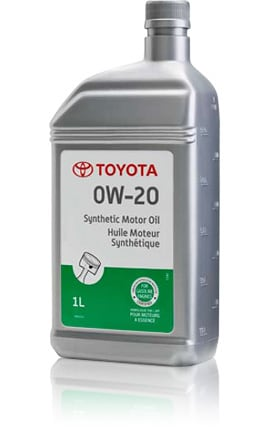 Toyota Genuine Synthetic Motor Oil