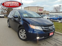 2014 Honda Odyssey EX-L |LEATHER| SUNROOF |POWER DOORS| 8 PASS Minivan