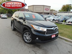2015 Toyota Highlander Hybrid HYBRID-XLE-NAVI-LEATHER-SUNROOF-4WD-8PASS SUV