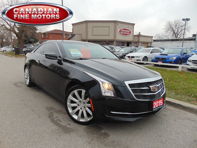 Used 2015 Cadillac Ats For Sale At Canadian Fine Motors Vin Item Vin
