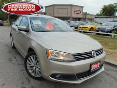 2012 Volkswagen Jetta HIGHLINE-TDI-LEATHER ROOF Sedan