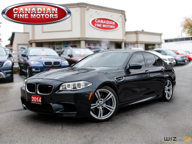 2014 BMW M5 TECH PKG-H.U.D-ONE OWNER 560HP!! Sedan