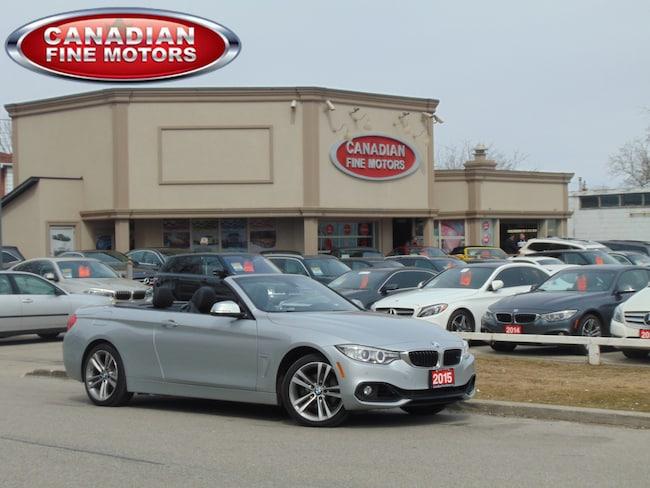 2015 BMW 428i X DRIVE-CONVERTIBLE-NAVI-HUD-CLEAN CARPROOF Convertible