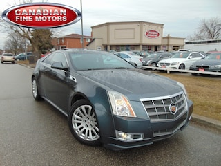 2011 CADILLAC CTS CLEAN CARPROOF-P.SUNROOF-2DR Coupe