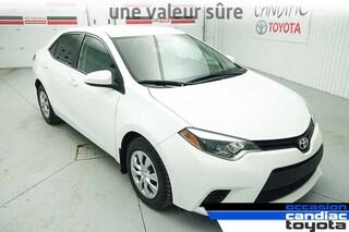 2015 Toyota Corolla CE * AUTO * AC * PACK ELECTRIQUE * VALEUR SURE * Sedan