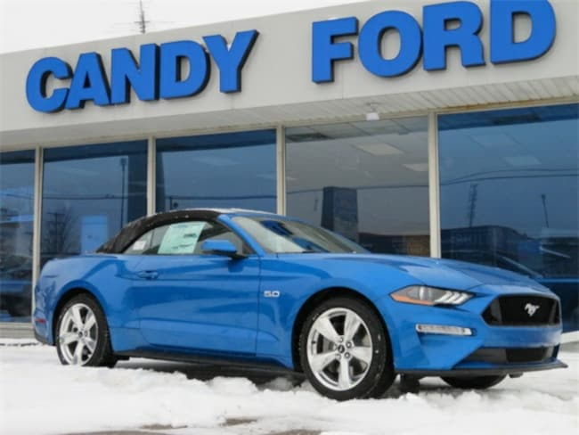 New 2019 Ford Mustang GT Premium Convertible For Sale/Lease Charlotte, MI