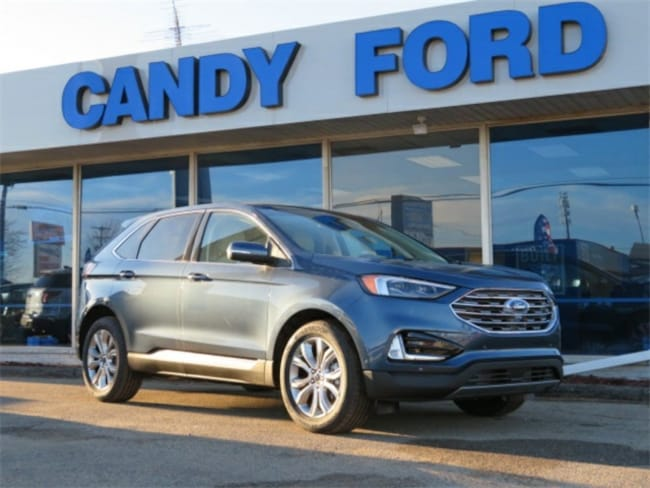 New 2019 Ford Edge Titanium SUV For Sale/Lease Charlotte, MI