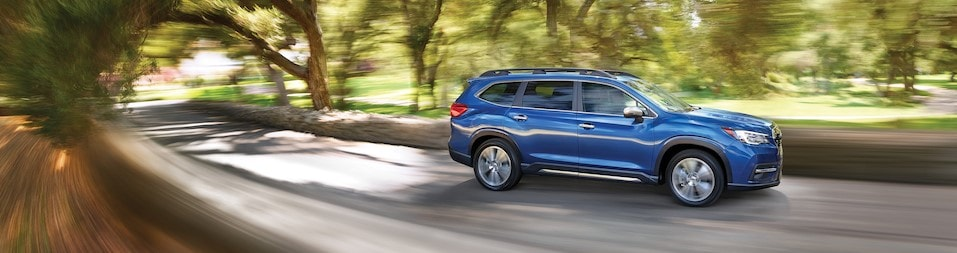2019 Subaru Ascent driving in Lakeland Florida