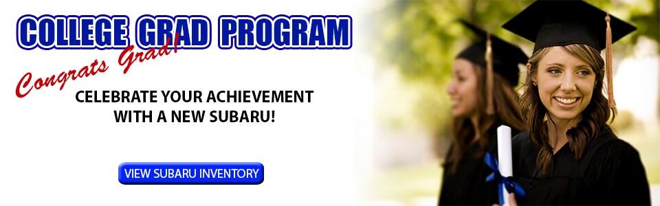 College Grad Program Specials Discounts Cannon Subaru - Subaru graduate program