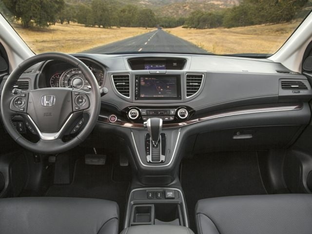 inside the Honda CR-V SUV