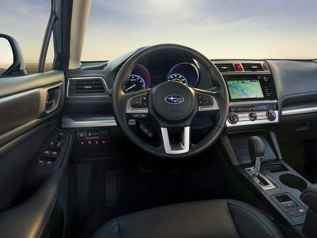 inside the 2016 Subaru Legacy