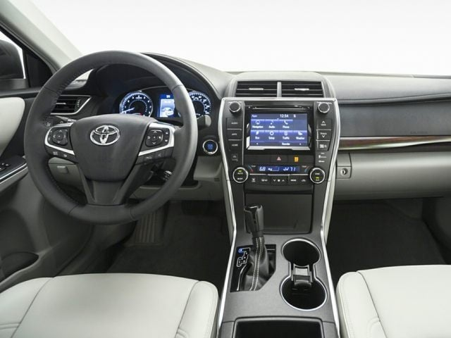 inside the 2016 Toyota Camry