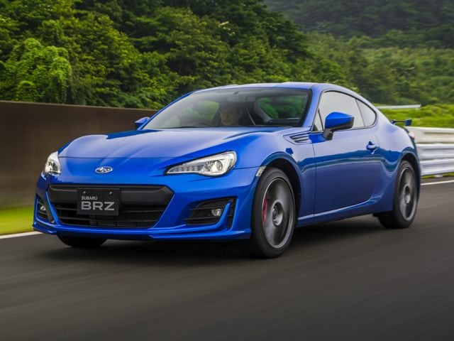 new 2017 Subaru BRZ coupe