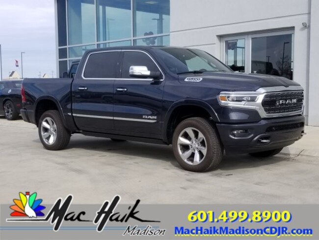 New 2019 Ram 1500 LIMITED CREW CAB 4X4 5'7 BOX For Sale | Madison MS