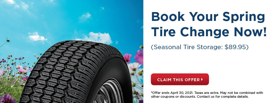 Spring Tire Change