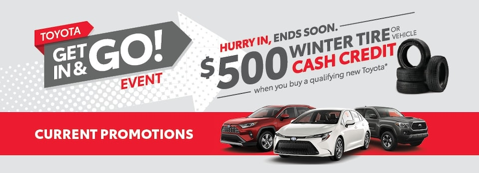Get In & Toyota Event