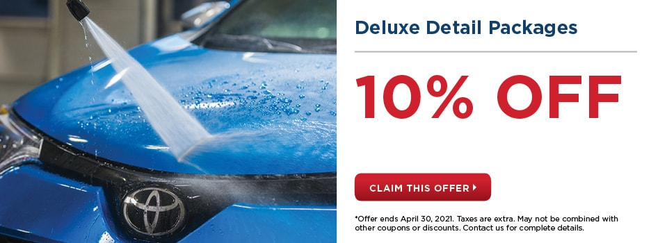 Deluxe Detail Packages