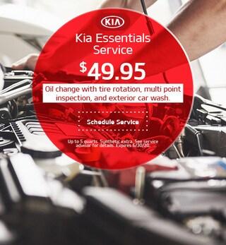 Kia Essentials Service