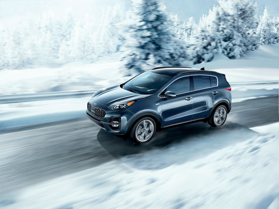 2020 Kia Sportage LX Driving in Massachusetts