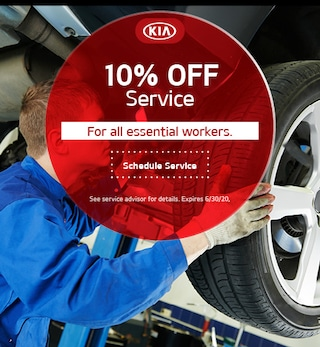 10% Off Service for Essential Workers