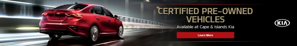Certified Pre-Owned Vehicles Available at Cape & Islands Kia