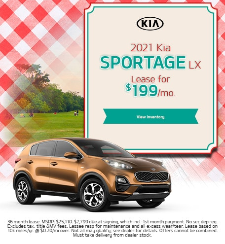 2021 Kia Sportage LX - September 2020