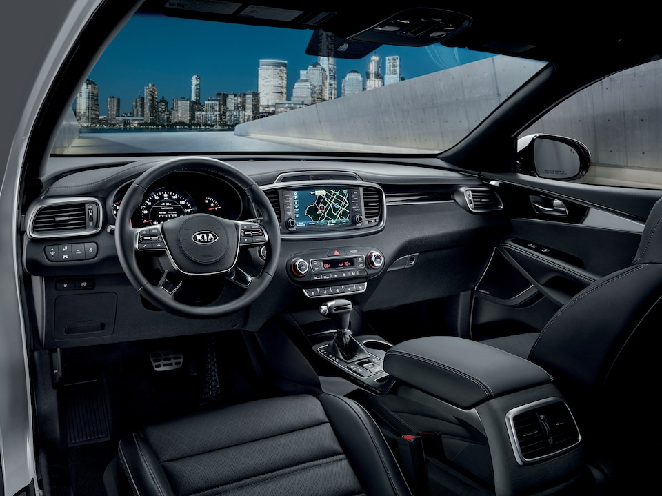 New Kia Sorento Interior Available in Hyannis