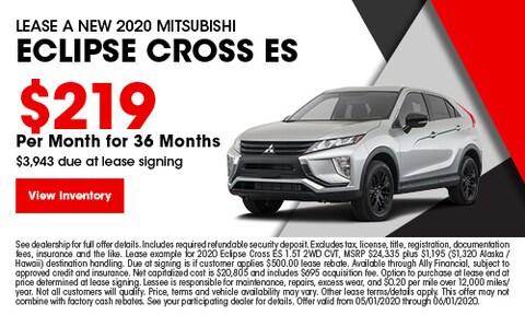 Lease A New 2020 Mitsubishi Eclipse Cross ES