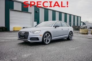 2018 Audi A4 2.0T Technik S-Line Black Package (X-DEMO) 4-Door Sedan