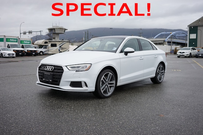 Used 2018 Audi A3 For Sale At Capilano Audi Vin Wauf8gff1j1058330