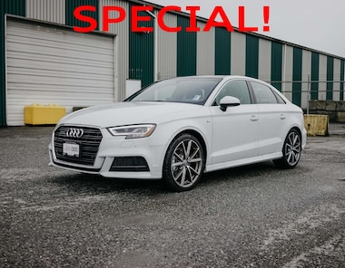2018 Audi A3 2.0T Technik Quattro 6sp S Tronic 4-Door Sedan