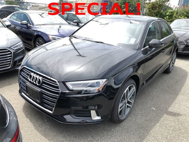 2018 Audi A3 2.0T Progressiv Quattro 6sp S Tronic 4-Door Sedan