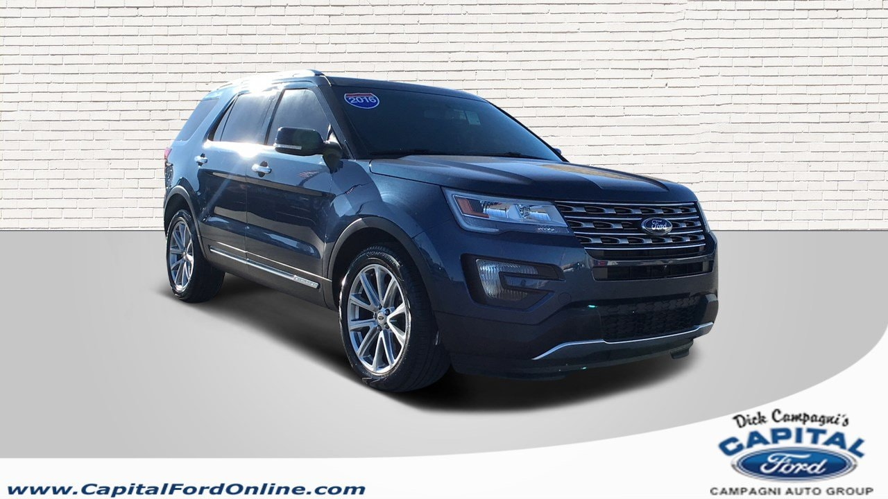 2016 Ford Explorer Limited 4WD  Limited