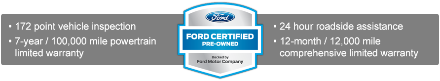 Capital Ford Carson City >> Certified Pre-Owned Vehicles | Capital Ford