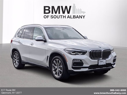 Featured Certified 2020 BMW X5 xDrive40i SUV for sale in Glenmont, NY