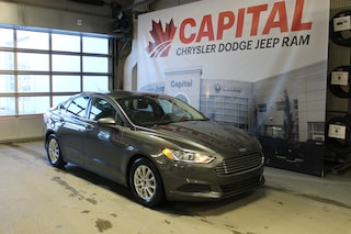 2015 Ford Fusion S | Cloth | Remote Keyless Entry | Back Up Camera Sedan
