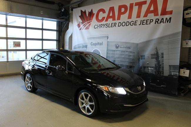 2013 Honda Civic LX (M5) | Cloth | Manual | Bluetooth | Remote Keyl Sedan