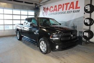 2015 Ram 1500 Sport | Leather | Heated/Vented Seats | Sunroof |  Truck Crew Cab