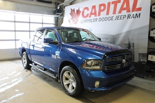 2016 Ram 1500 Sport | Touchscreen | Heated/AC Seats | Back Up Ca Truck Crew Cab