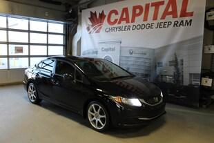 2013 Honda Civic LX (M5) | Cloth | Manual | Bluetooth | Remote Keyl Sedan