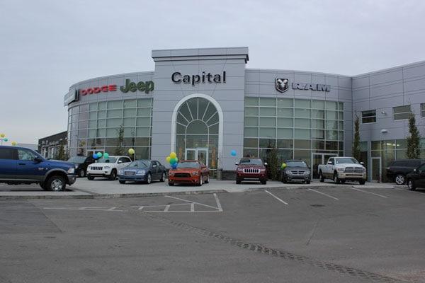 Capital Dodge Edmonton >> Edmonton chrysler car dealerships