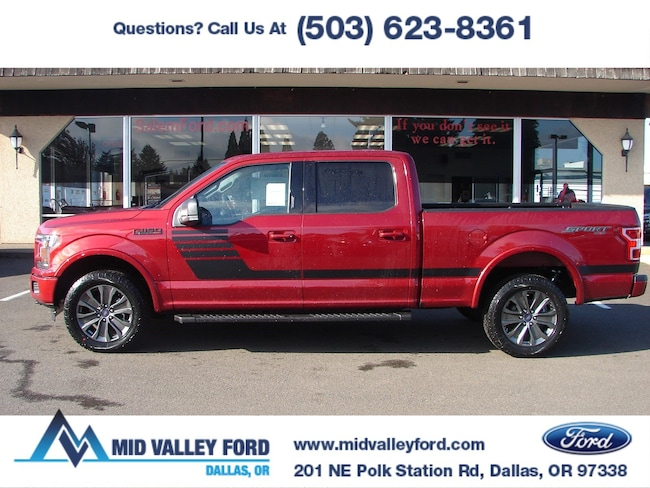 2018 Ford F-150 XLT XLT 4WD SuperCrew 6.5 Box
