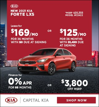 2021 Kia Forte April Offer