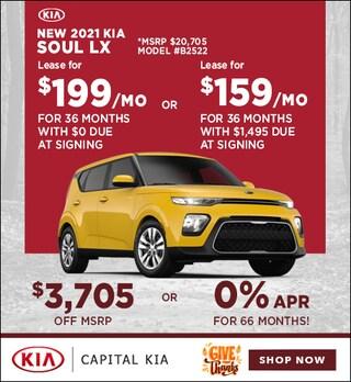 2021 Kia Soul LX Nov. Special