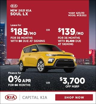 2021 Kia Soul April Offer