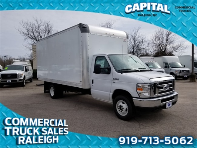 2019 Ford E-350SD 16FT BOX/Ramp Cab/Chassis