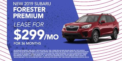 New 2019 Subaru Forester Premium