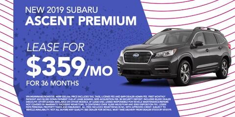 New 2019 Subaru Ascent Premium